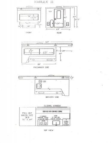 Original Ranger II Drawings