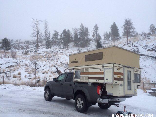 Four Wheel Camper Nissan Frontier - British Columbia Fleet