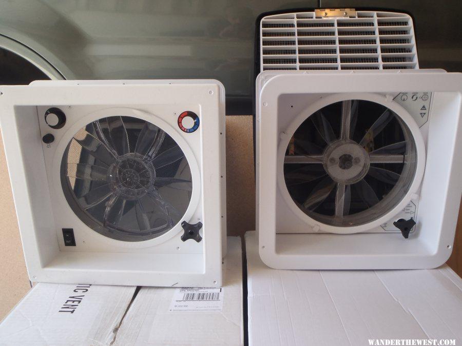 Fantastic Fan vs MaxxFan Comparison, including amp usage ... on