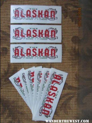 Alaskan decal 2