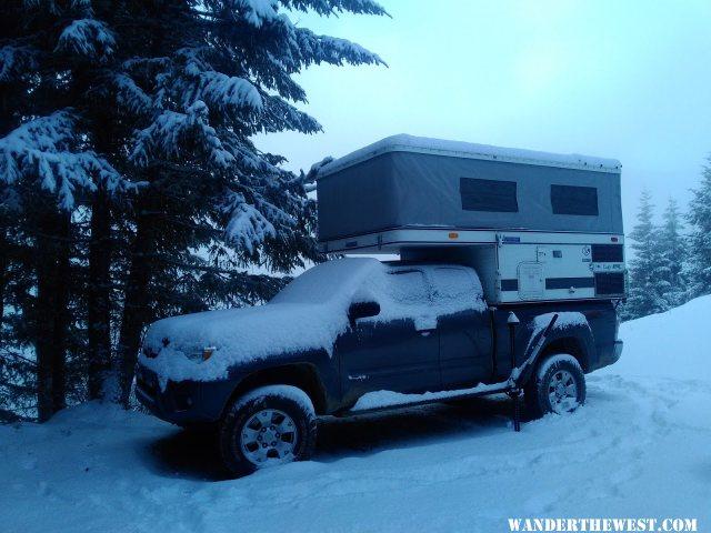 Outside Mt. Rainier NP