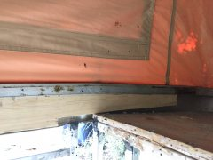 Interior Roof Support