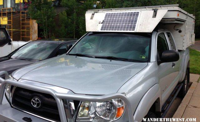 40 Watt Wind Deflector Panel Vehicles And Vehicle Mods Gallery