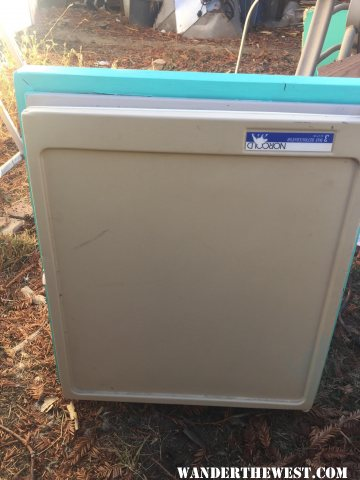 Norcold 3way fridge for sale
