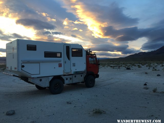 XPCube at Eureka Dunes, Death Valley