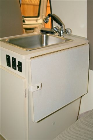 Custom Camper Ideas Fold Up Slide Out Counter Space