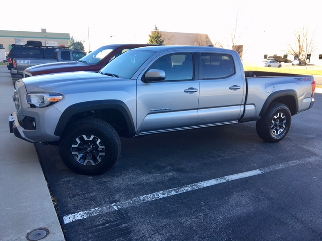 Suspension for 2017 Tacoma and FWC Fleet Shell - Four Wheel