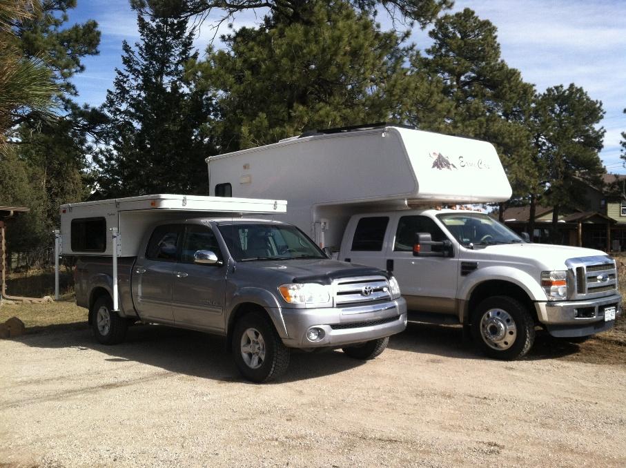 Camper Wood Undercoating Truck Campers Wander The West