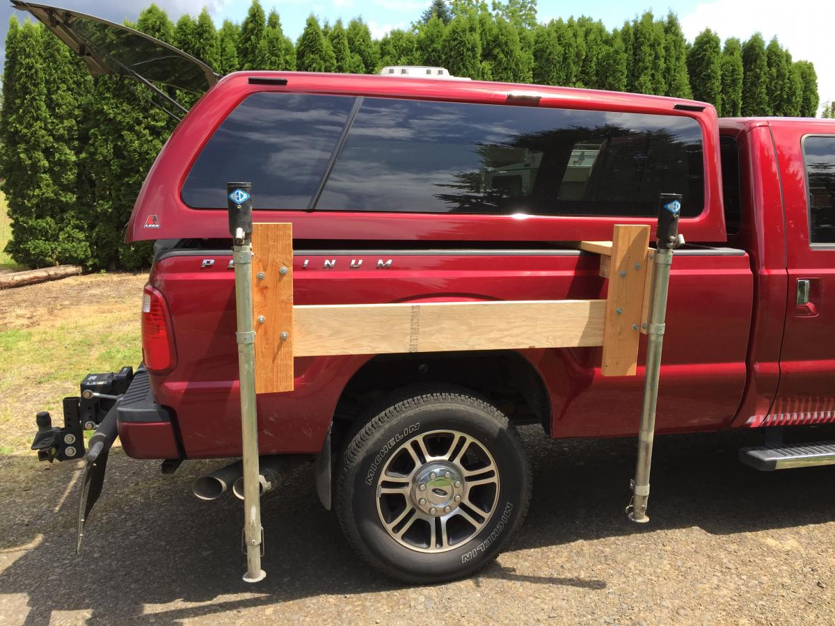 Wood Truck Tops ~ Caution wood butcher at work trucks truck accessories