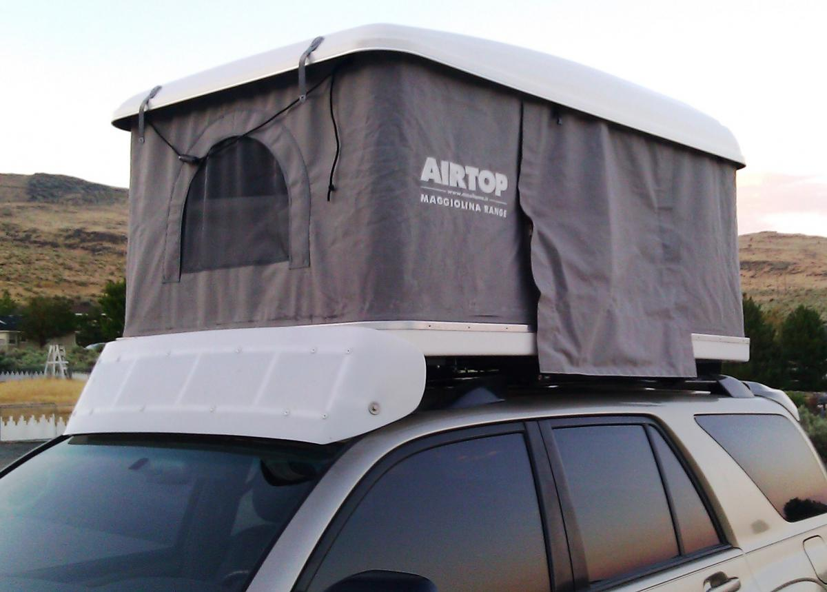 Attached Thumbnails & SOLD*** Air Top Carbon Roof Top Tent - Gear Exchange - Wander the West