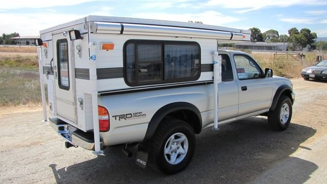 Slide In Campers For 2002 Toyota Tacoma   Autos Post
