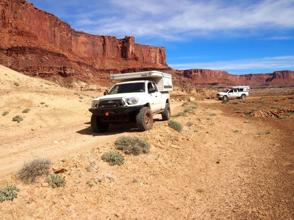 2014 Toyota Tacoma with 2015 Four Wheel Camper - $65000 ...