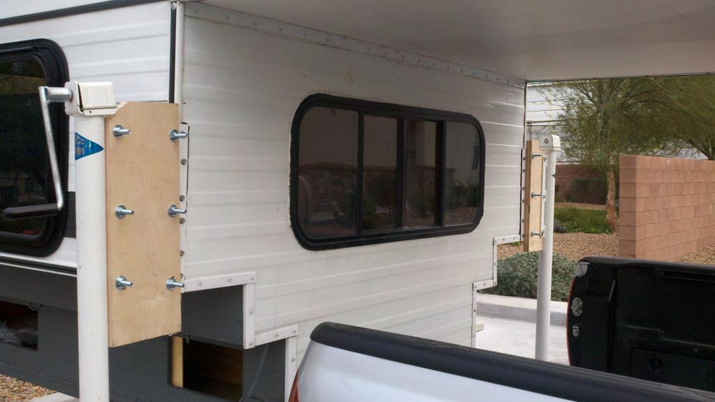 Short Bed Truck >> Dually Extension Brackets and Non-standard Camper Jacks - Four Wheel Camper Discussions - Wander ...